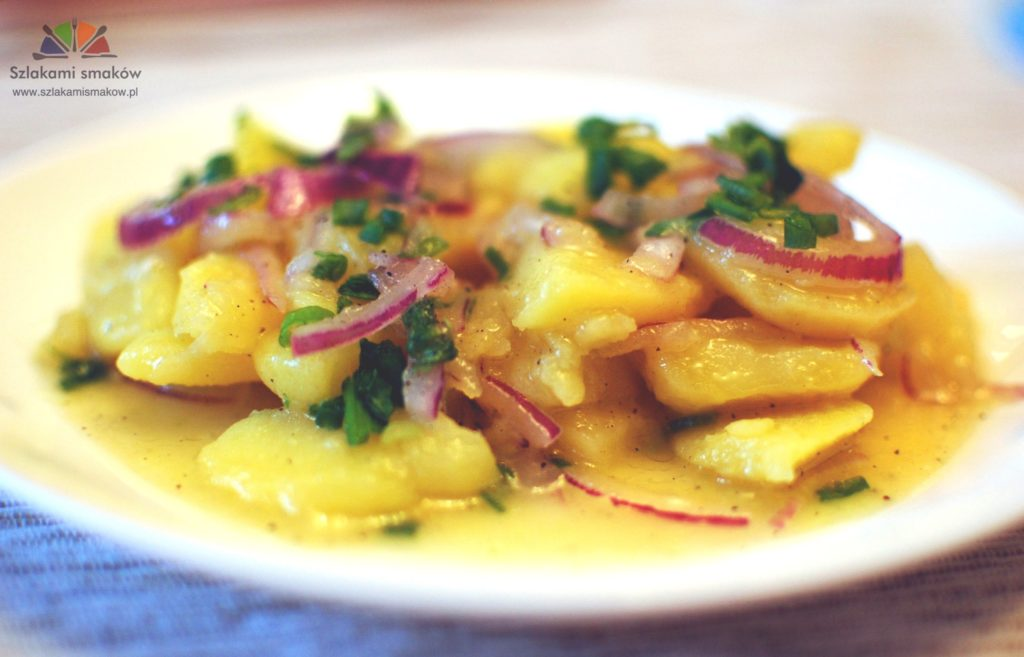 Salatka Ziemniaczana Kartoffelsalat Szlakami Smakow
